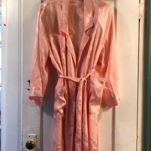 Victoria secret pink kimono full length robe